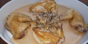 Morilles ( à base de crème)