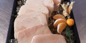 Foie Gras de canard mariné au Sauternes aux abricots sous vide