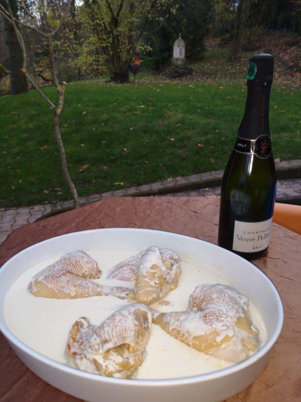 sauce champagne