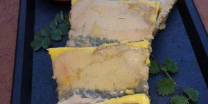 Foie Gras fumé aux artichauts sous vide